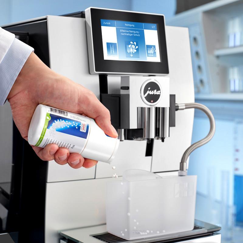 Міні-таблетки для очистки молочної системи, контейнер 90 г з дозатором