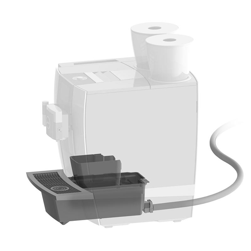 Комплект JURA для облаштування процесу скидання залишків води / відпрацьованої кави для серії GIGA