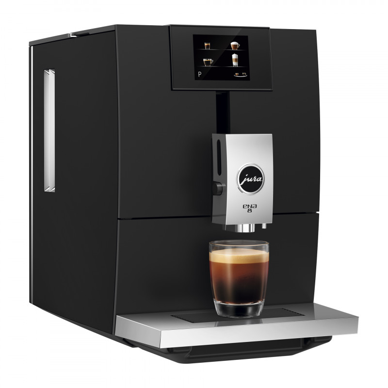 Кофемашина JURA ENA 8 Touch Full Metropolitan Black EU