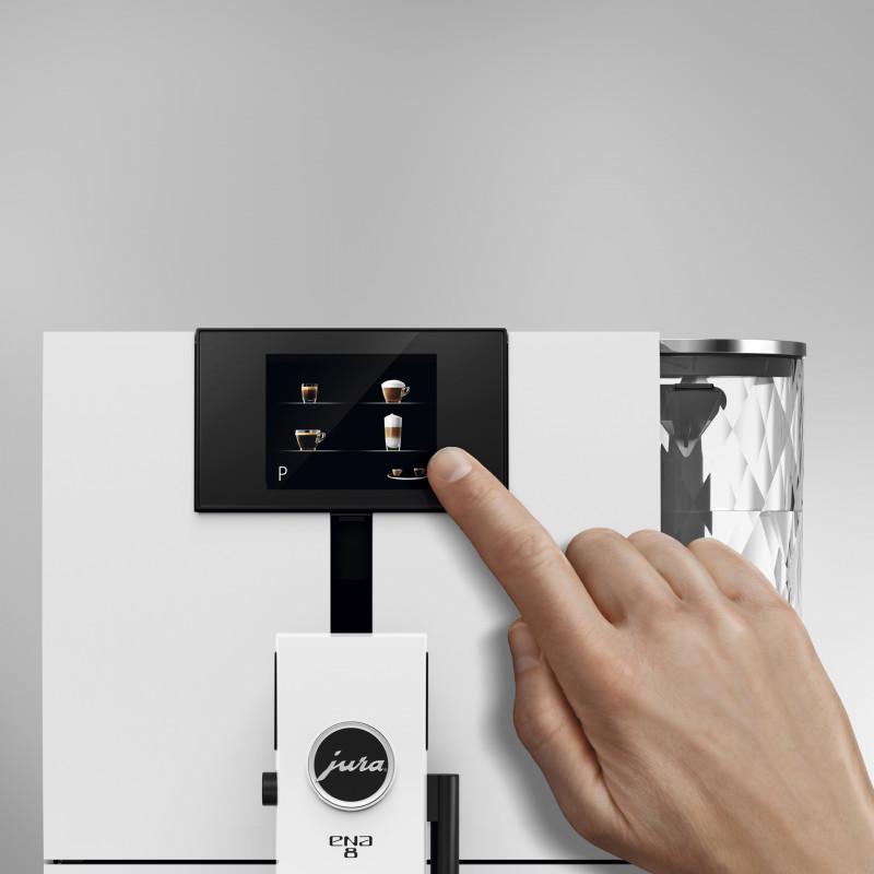 Кофемашина JURA ENA 8 Touch Full Nordic White EU 2019