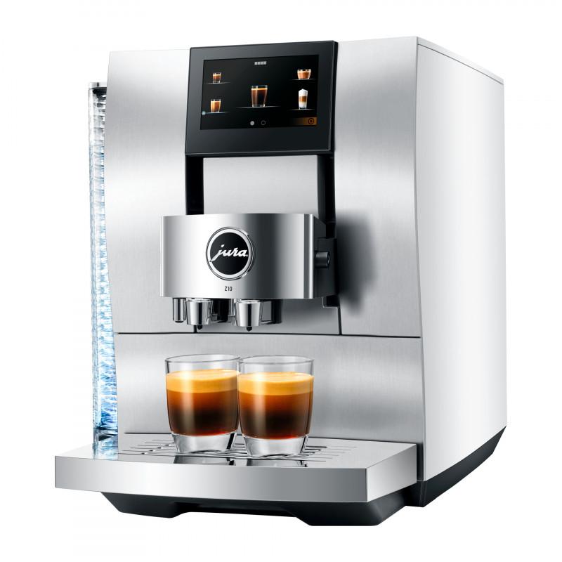 Кофемашина JURA Z10 Aluminium White (EA)
