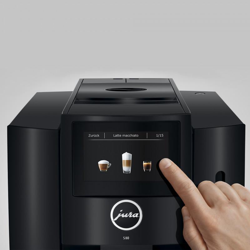 Кофемашина JURA S80 Piano Black