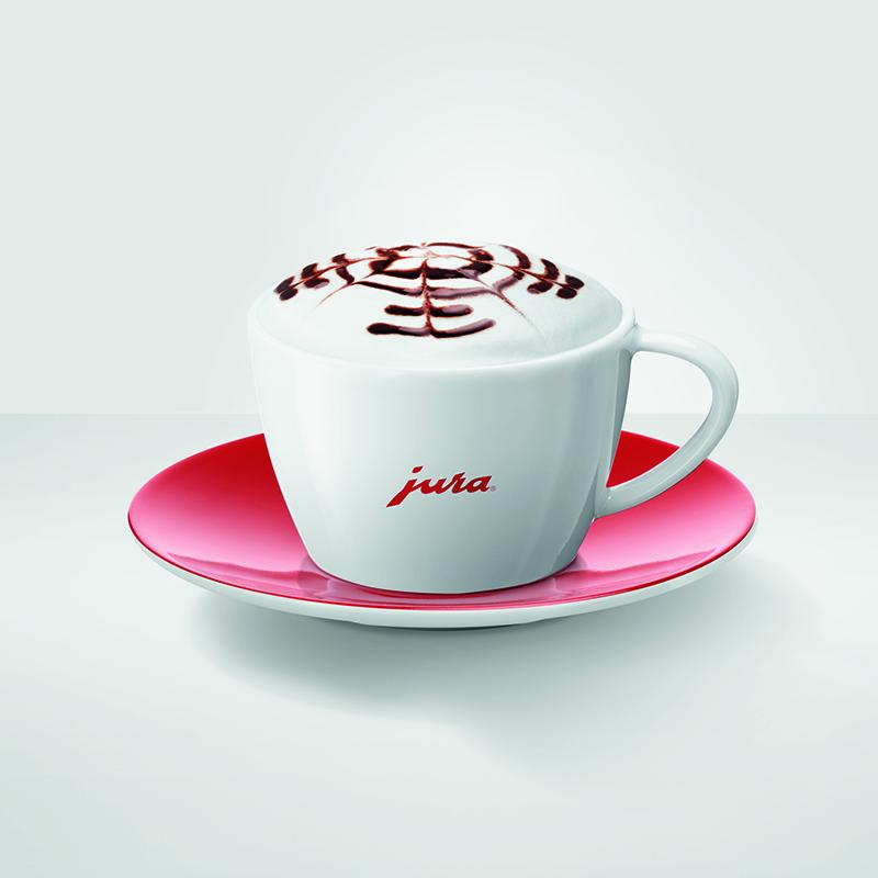 Набір чашок для капучино Jura з лого 2шт